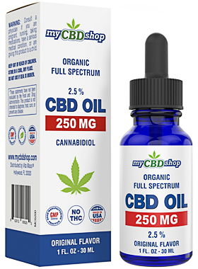 CBD OIL - BROAD FULL SPECTRUM - 250 MG - 30ML