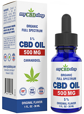 CBD OIL - BROAD FULL SPECTRUM - 500 MG - 30ML